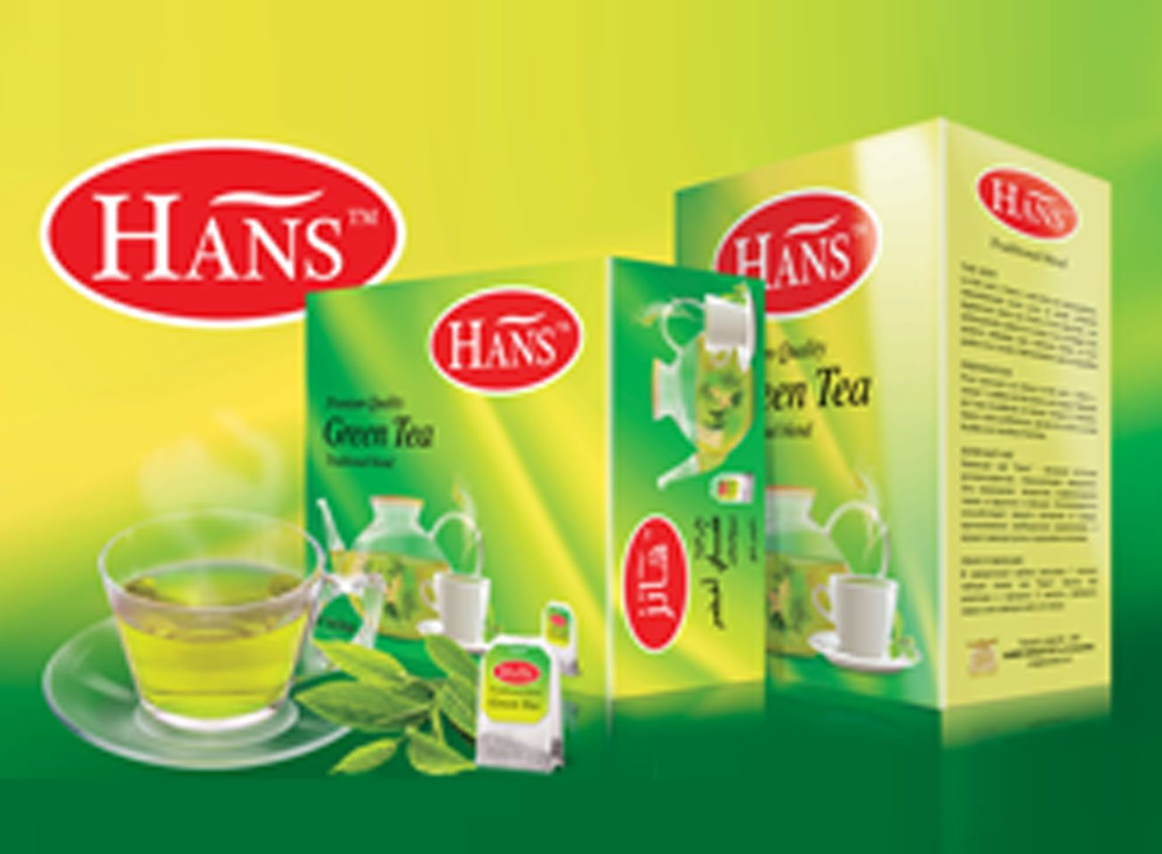 Hans Premium Quality Green Tea Traditional blend is exquisite choice of selected black tea expertly blended and enhanced with the exotic flavor of cardamon to give a truly delightful cup…